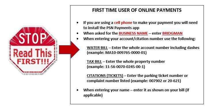 Online Payment Tips