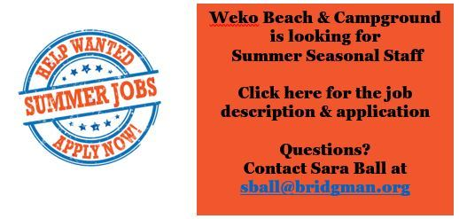Summer Job Ad Opens in new window