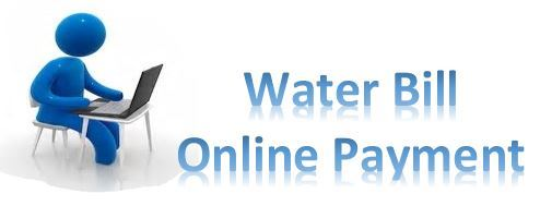 water on line payment