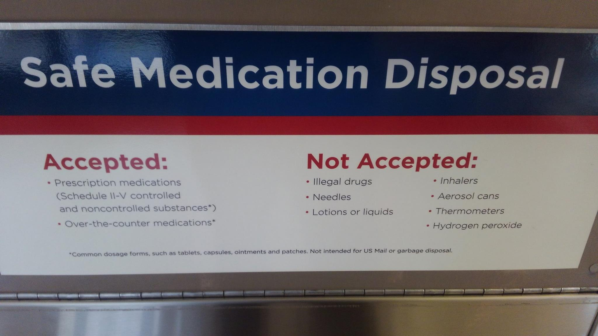 Safe Medication Disposal